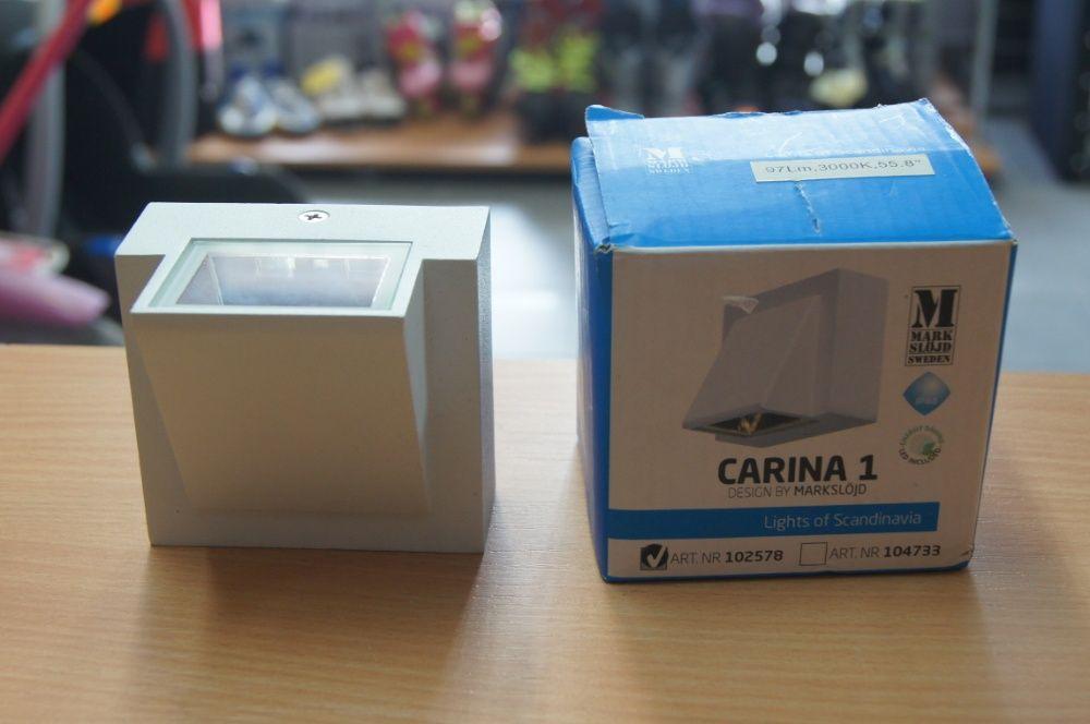 Markslojd Carina LED kinkiet elewacyjny 1-punktowy IP44 na zewnątrz