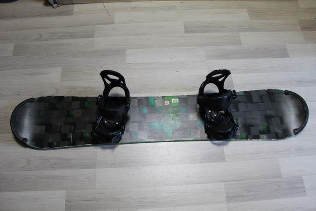 Deska Snowboard BURTON PROCESS FLYING V 152 cm + Wiązania BURTON