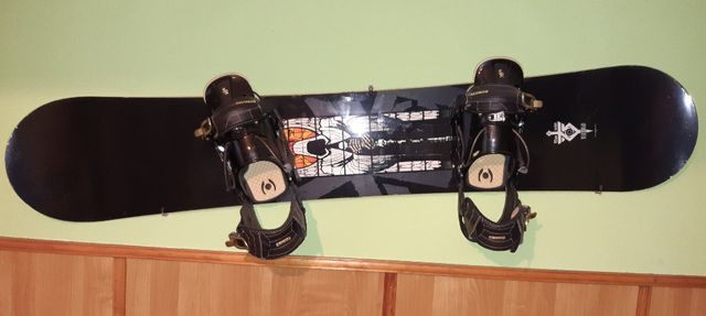 Deska snowbordowa Nitro + sprzęt