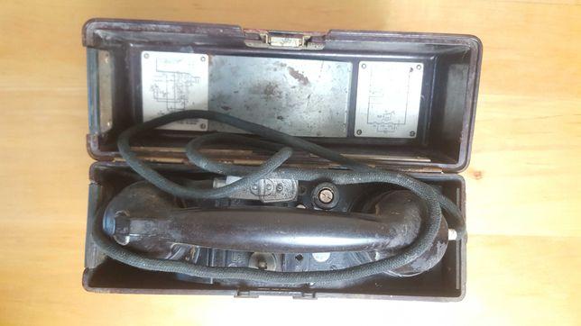 Фронтовой полевой телефонный аппарат Feldfernsprecher 33 (FF-33) 1940г