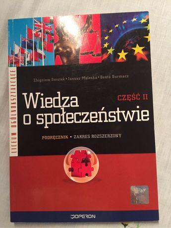 Wiedza o społeczeństwie cz. 2