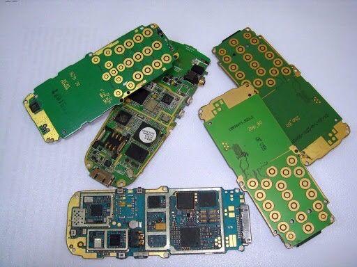 Платы мобильных телефонов
