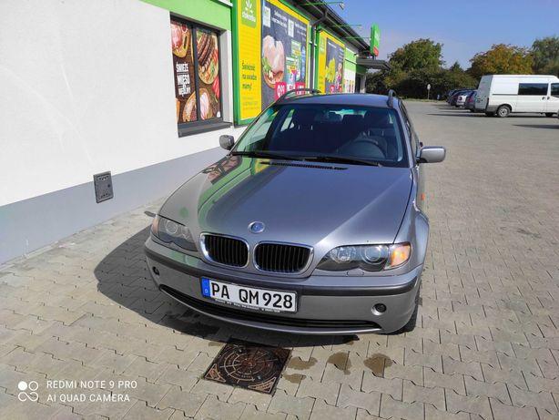 BMW E46 KOMBI 2.0 Benzyna 2004 Rok 200000KM Przebiegu!!! Zadbany!!!