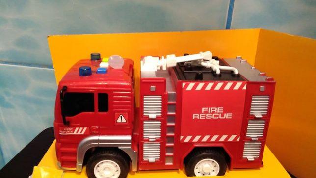 Пожарная машина,звук