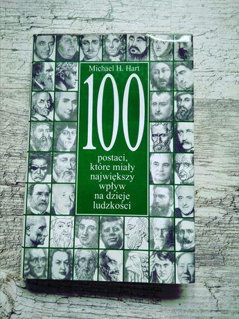Książka 100 postaci, które miały najwiekszy wpływ na dzieje ludzkości