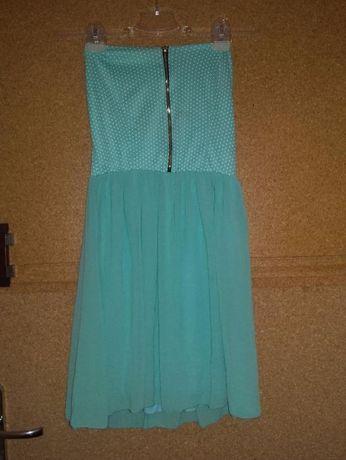 Sukienka bez ramiączek 36