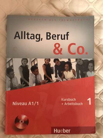 Книга для вивчення німецькоі Alltag Beruf