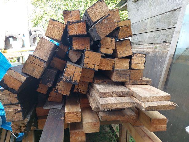 Belki Drewniane Impregnowane