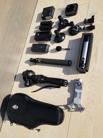 MEGA zestaw DJI Osmo X3, Zenmuse, akcesoria, tripod, soczewka