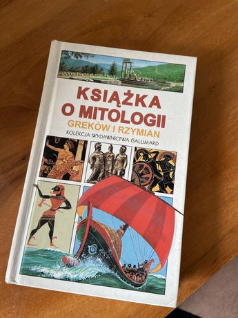 Książka o mitologii Graków i Rzymian