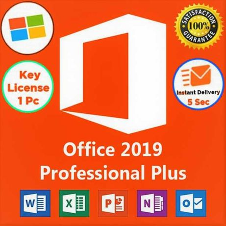 Microsft™Office 2019 Pro Plus Original License Key