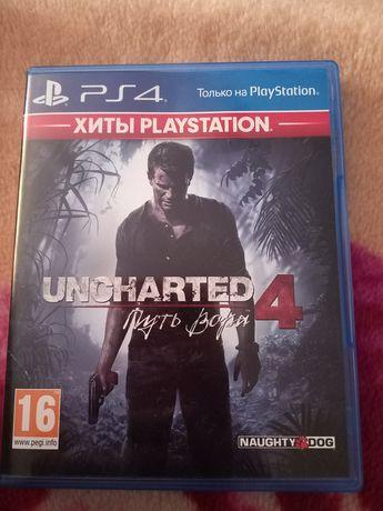Uncharted 4 : путь вора. Игры для PlayStation 4