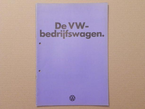 Prospekt - VOLKSWAGEN VW TRANSPORTER T2 - 1974 rok .