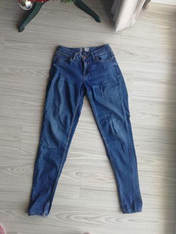 Jeansy z wysokim stanem New Look Skinny