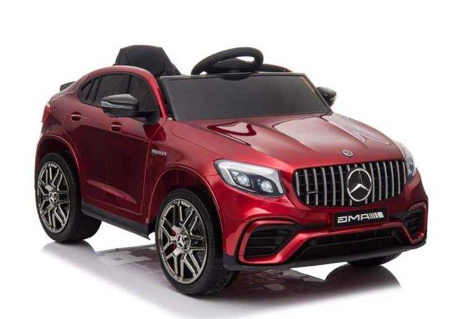 Auto na akumulator Mercedes GLC 63S 4x4 , skóra led 12V Lakierowan