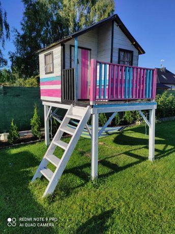 Domek drewniany ogrodowy dla dzieci Jerzyk