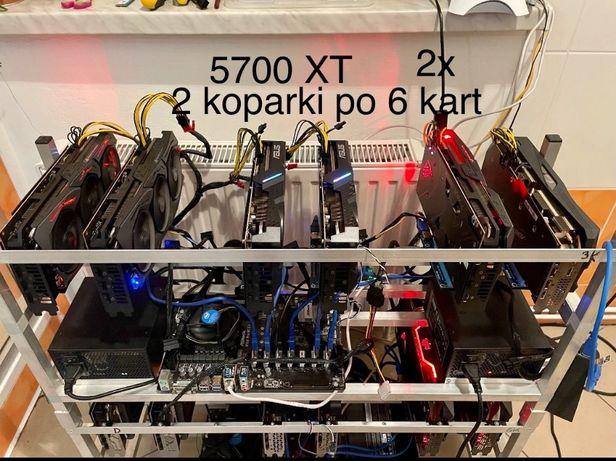 Koparka kryptowalut 6x 5700XT 312 Mh/s Bielsko-Biała