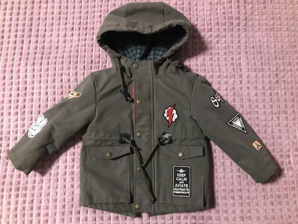 Куртка-парка р.80