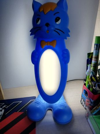 Lampka na biurko, nocna dla dziecka kotek