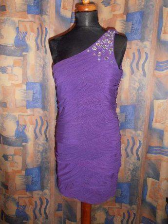 Sukienka fioletowa 42/44