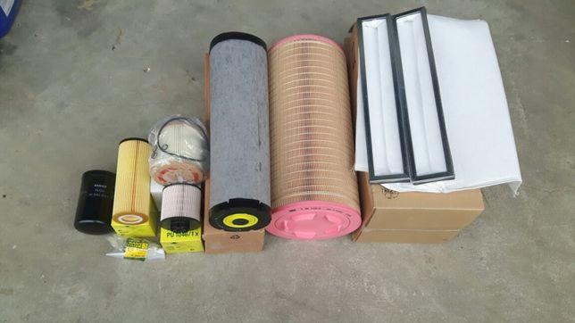 Zestaw Filtrów Filtry Claas Tucano 320,330,340 430,440,450 Mann Claas