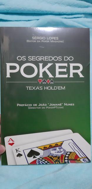 Livro Os Segredos do Poker - NOVO! Selado!