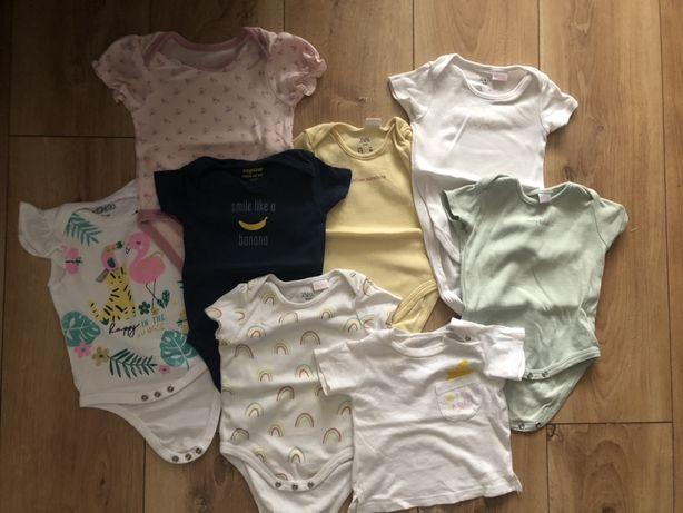 Body niemowlęce krótki rękaw. Paka Zara Benetton Pepco. 68. 3-6 miesię