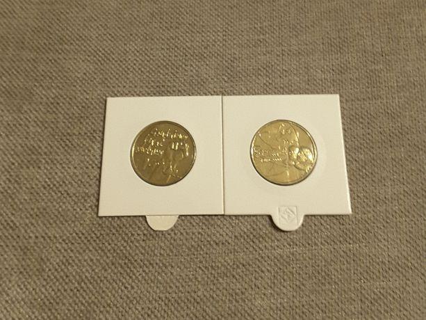 2zł.GN zestaw dwóch monet z 2000r.