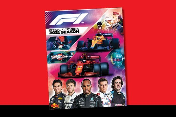 F1 Topps Stickers 2021