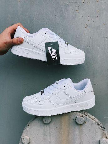 Кеды белые черные Найк Аир Форс высокие низкие Nike Air Force White
