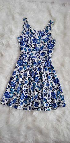 Sukienka H&M w kwiatki