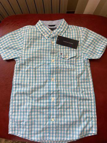 Новая рубашка Tommy Hilfiger на мальчика 7-8 лет Оригинал США