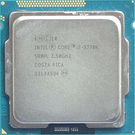 Процессор I7 3770K 3.5GHz 8Mb Intel Core 1155 SR0PL | Гарантия 1 Год