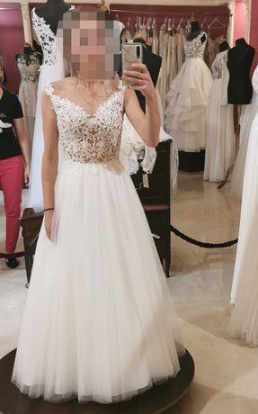 Suknia ślubna XS wzrost 150cm