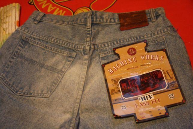 Super Jeans Spodnie Nowe w Pasie 86cm