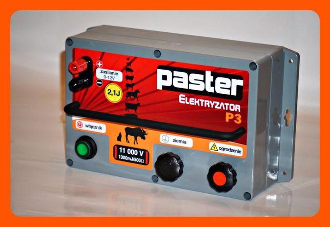 Nowość - elektryzator, pastuch elektryczny PASTER P3 darmowa przesyłka