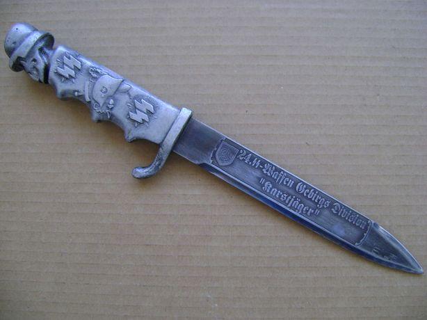 Niemiecki bagnet nóż okopowy II wojna