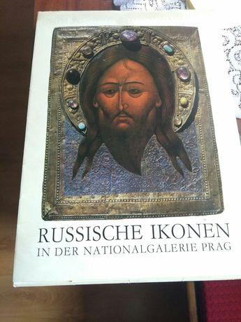 Książka z ikonami