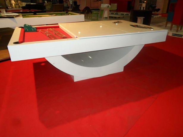 Bilhar europa fabricante Mod Milan oferta tampo jantar