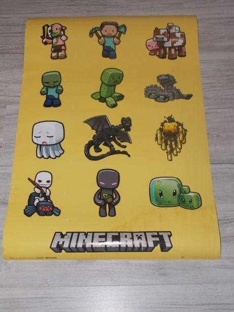 plakat Minecraft , Rick and Morty , Pokemony, muzyczny RAP