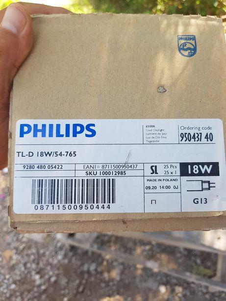 Люминесцентная лампа PHILIPS TL-D 18W/54-765 G13 T8