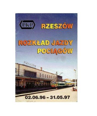 Informator PKP rozkład jazdy 1996 rok Rzeszów