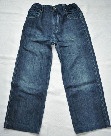 """dżinsy chłopięce r.146-152 granatowe spodnie jeans z """"5.10.15"""""""