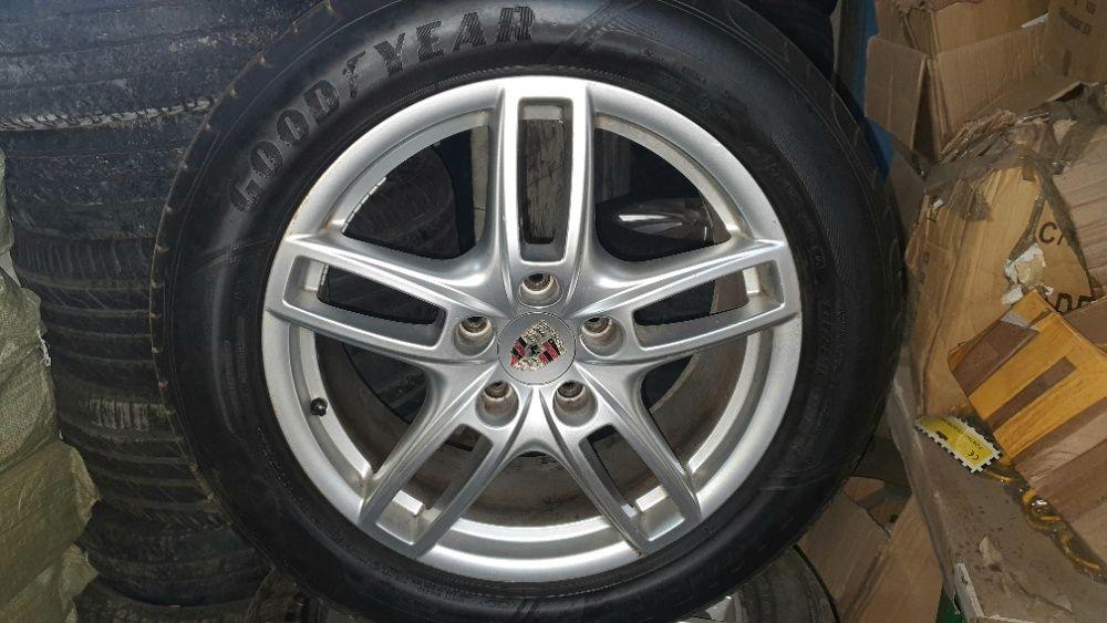 """Alufelgi Porsche 19"""" z oponami letnimi GoodYear Niepołomice - image 1"""