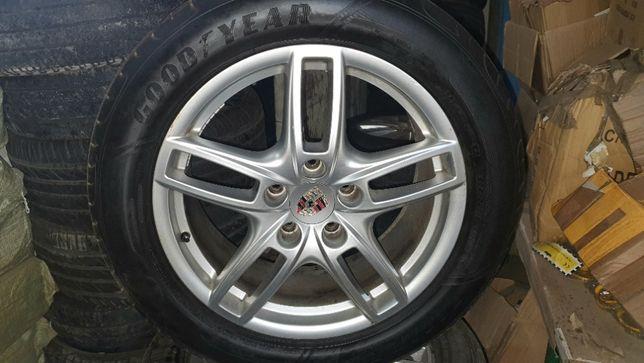 "Alufelgi Porsche 19"" z oponami letnimi GoodYear"