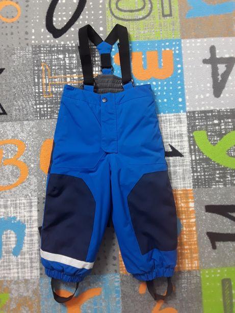 Roz. 98 H&M Spodnie narciarskie na szelkach