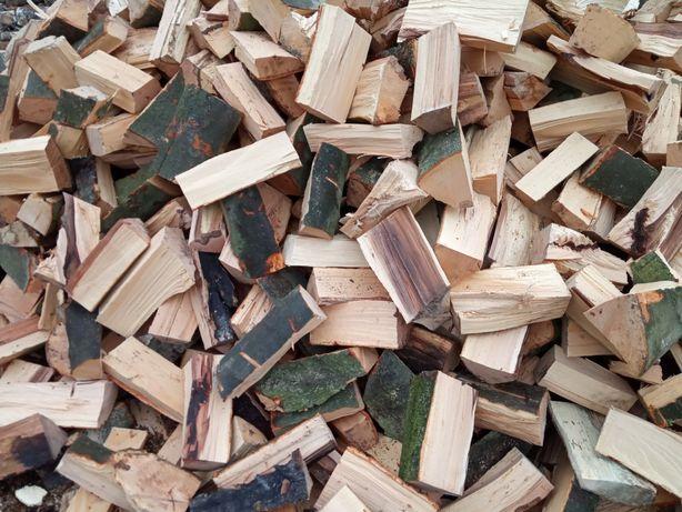 Drewno kominkowe opałowe buk grab dąb brzoza sosna TRANSPORT