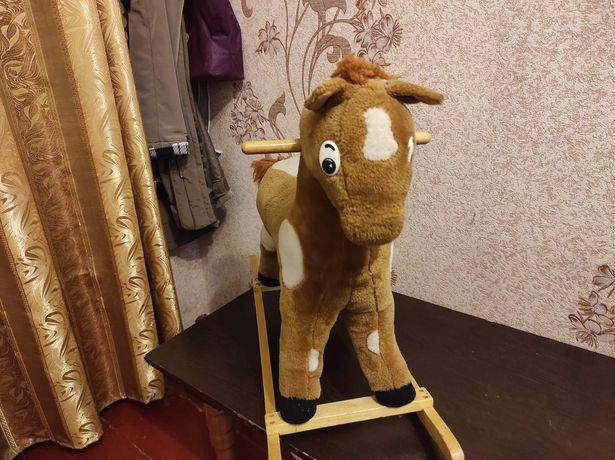 Качалка лошадка конь