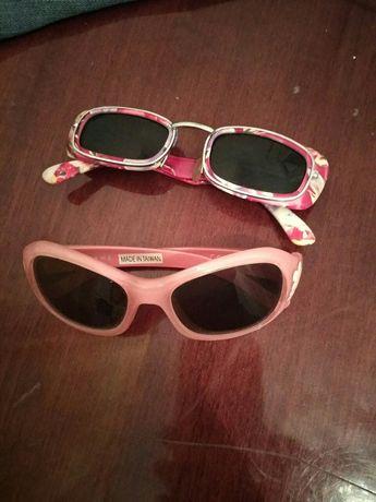 Очки на девочку солнцезащитные