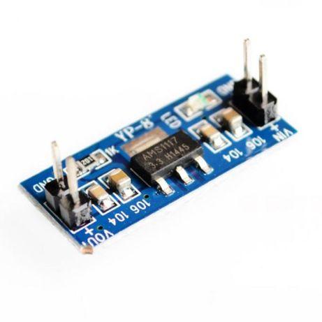 Модуль линейного стабилизатора с 4,5-7В на 3,3В на AMS1117